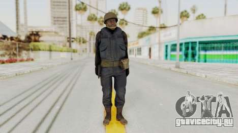 MGSV Phantom Pain RC Soldier Vest v2 для GTA San Andreas второй скриншот