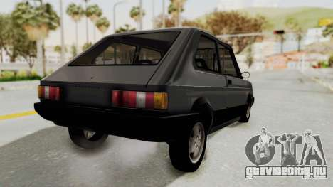Fiat 147 Spazio TR для GTA San Andreas вид сзади слева