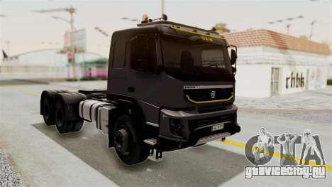Volvo FMX Euro 5 6x4 для GTA San Andreas вид справа