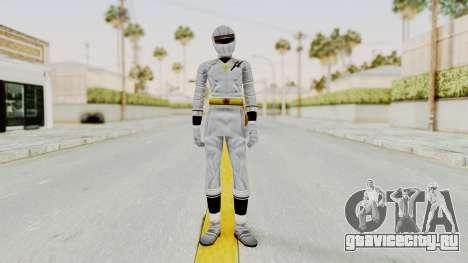 Alien Rangers - White для GTA San Andreas второй скриншот