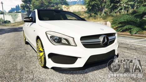 Mercedes-Benz CLA 45 AMG [HSR Wheels] для GTA 5
