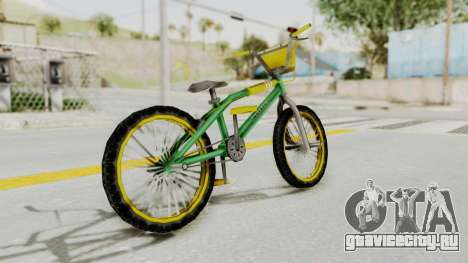 Bully SE - BMX для GTA San Andreas вид слева