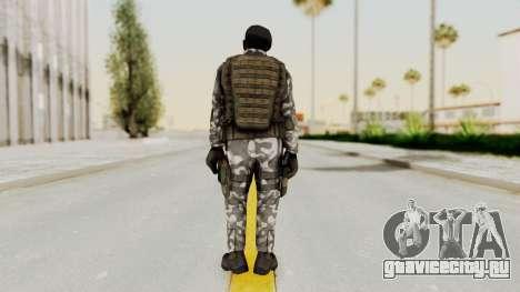 Black Mesa - HECU Marine Beret для GTA San Andreas третий скриншот