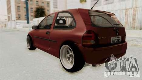 Chevrolet Corsa Hatchback Tuning v1 для GTA San Andreas вид слева