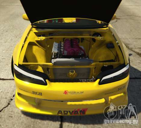 Nissan Silvia S15 Vertex для GTA 5