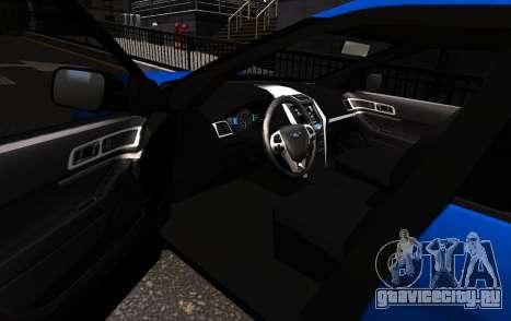 Ford Explorer 2013 для GTA 4 вид слева