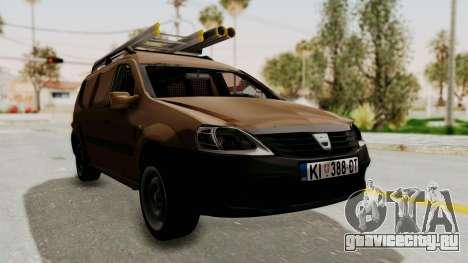 Dacia Logan MCV Van для GTA San Andreas