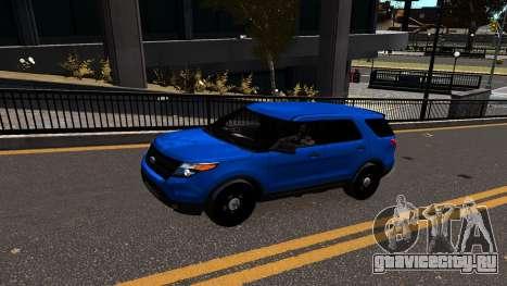 Ford Explorer 2013 для GTA 4