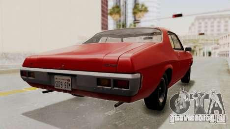 Holden Monaro GTS 1971 SA Plate HQLM для GTA San Andreas вид слева