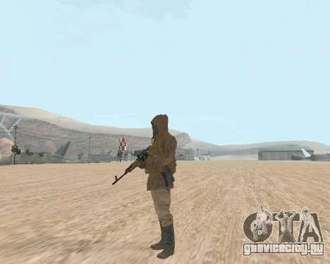 Soviet Sniper для GTA San Andreas четвёртый скриншот