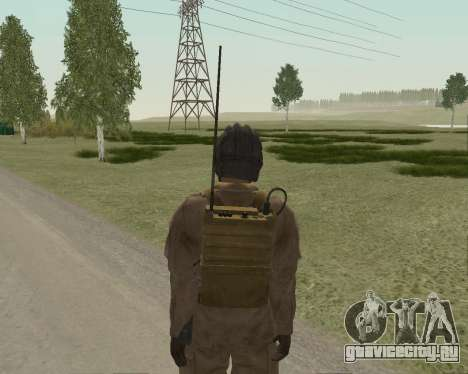 Советский солдат для GTA San Andreas четвёртый скриншот