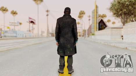 Watchdogs Aiden Pierce DedSec Outfit для GTA San Andreas третий скриншот