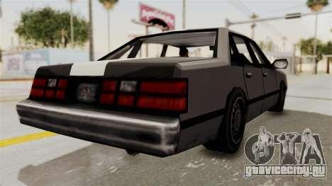 Stanier Turbo для GTA San Andreas вид справа