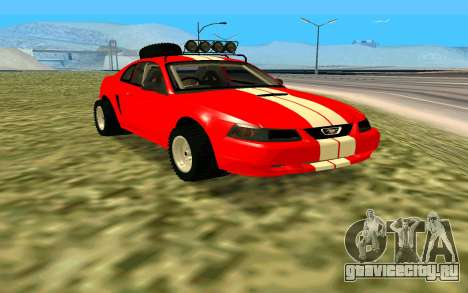Ford Mustang 1999 для GTA San Andreas вид справа