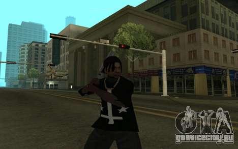 Grove Gang Skin для GTA San Andreas третий скриншот