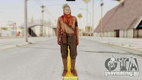 MGSV Phantom Pain Ocelot Mother Base для GTA San Andreas второй скриншот