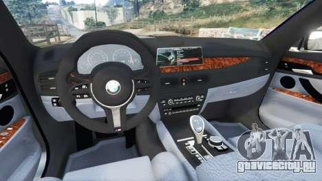 BMW 750Li xDrive (G12) 2016 для GTA 5 вид сзади справа