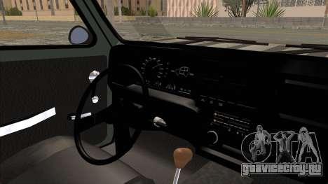 Fiat 147 Vivace для GTA San Andreas вид изнутри