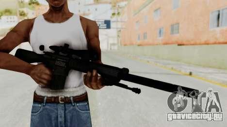 SR-25 для GTA San Andreas третий скриншот