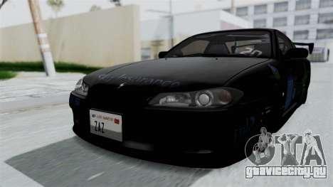 Nissan Silvia S15 RDT для GTA San Andreas