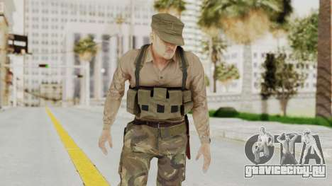 MGSV Phantom Pain Rogue Coyote Soldier Shirt v1 для GTA San Andreas