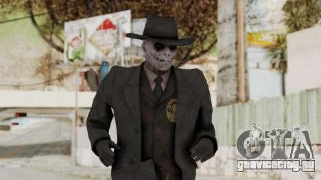 MGSV Phantom Pain SKULLFACE No Mask для GTA San Andreas