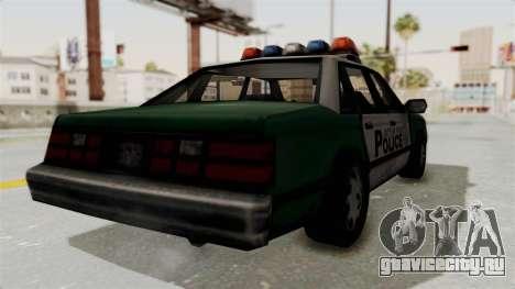 GTA VC Police Car для GTA San Andreas вид слева