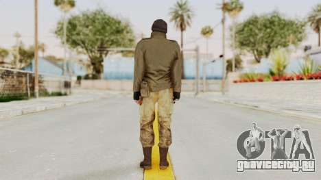 MGSV Phantom Pain CFA Sniper для GTA San Andreas третий скриншот