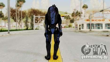 Mass Effect 2 Garrus для GTA San Andreas третий скриншот