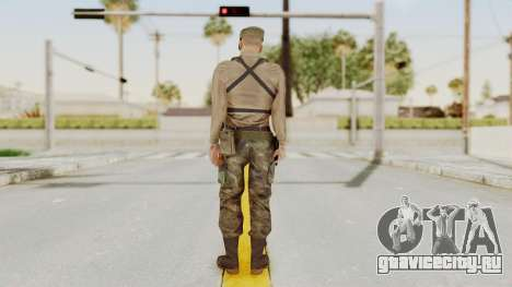 MGSV Phantom Pain Rogue Coyote Soldier Shirt v1 для GTA San Andreas третий скриншот