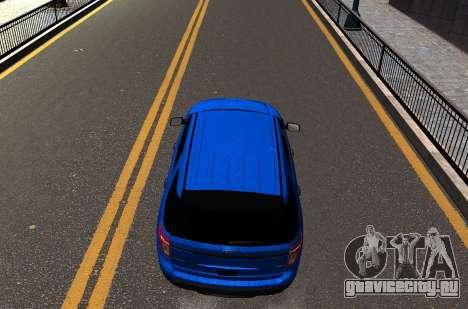 Ford Explorer 2013 для GTA 4 вид справа