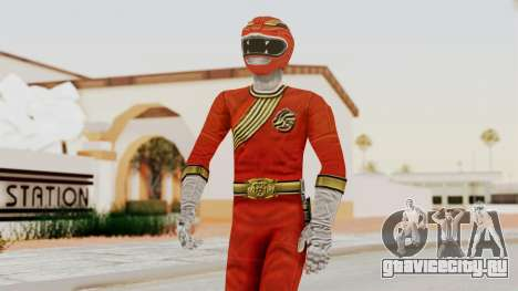 Power Rangers Wild Force - Red для GTA San Andreas