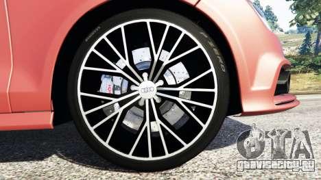 Audi A7 2015 для GTA 5 руль и приборная панель