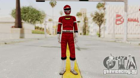 Power Rangers Turbo - Red для GTA San Andreas второй скриншот