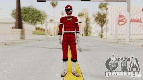 Power Rangers Turbo - Red для GTA San Andreas второй скриншот