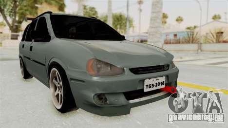 Chevrolet Corsa Wagon Tuning для GTA San Andreas