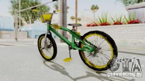 Bully SE - BMX для GTA San Andreas вид сзади слева