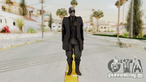 MGSV Phantom Pain SKULLFACE No Hat для GTA San Andreas второй скриншот