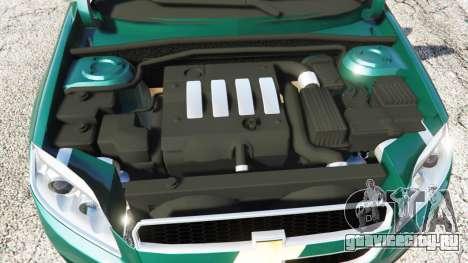 Chevrolet Captiva 2010 для GTA 5 вид справа