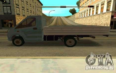ГАЗель NEXT для GTA San Andreas вид слева