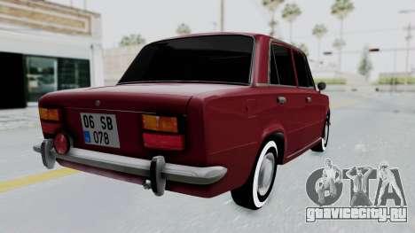 Tofas Murat 124 для GTA San Andreas вид слева
