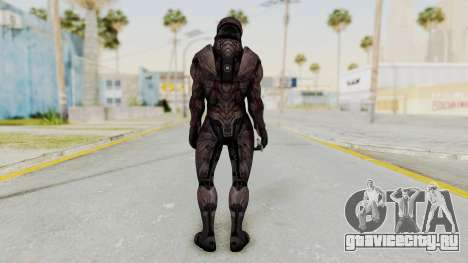 Mass Effect 3 Collector Male Armor для GTA San Andreas третий скриншот