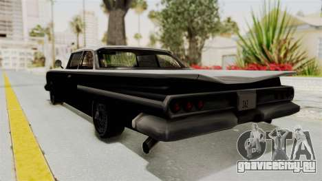 Voodoo Limited Edition для GTA San Andreas вид слева