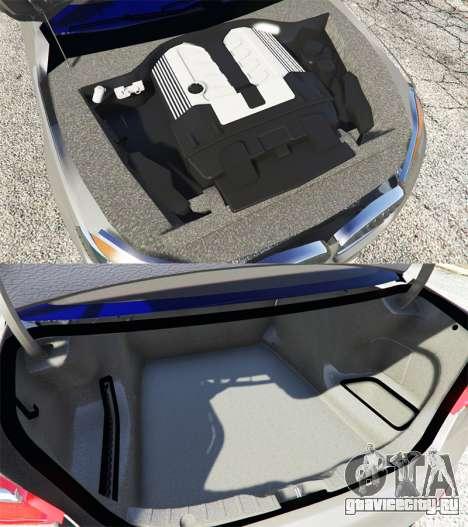 BMW 750Li xDrive (G12) 2016 для GTA 5 вид спереди справа