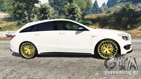 Mercedes-Benz CLA 45 AMG [HSR Wheels] для GTA 5 вид слева