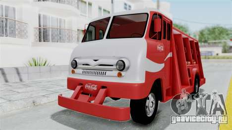 Ford P600 1964 Coca-Cola Delivery Truck для GTA San Andreas