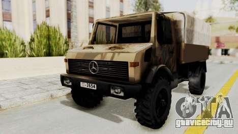 Mercedes-Benz Vojno Vozilo для GTA San Andreas