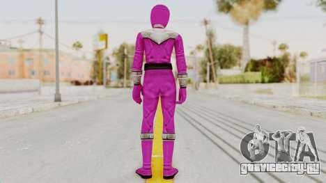 Power Rangers Time Force - Pink для GTA San Andreas третий скриншот