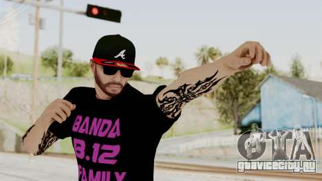 Banda 12 Skin для GTA San Andreas