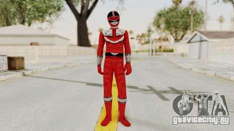 Power Rangers Time Force - Red для GTA San Andreas второй скриншот
